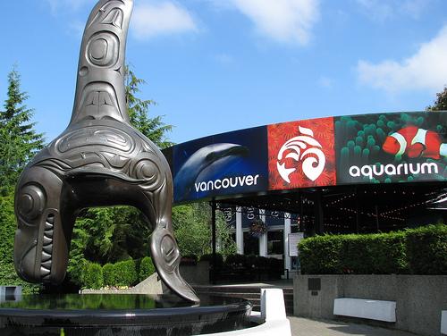 Vancouver Aquarium front entrance